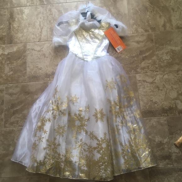 New-Girls Snow Queen Halloween Costume-Large & Target Costumes | Newgirls Snow Queen Halloween Costumelarge | Poshmark